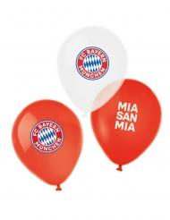6 Balões de látex FC Bayern Munique™ 27 cm