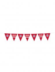 Grinalda bandeirolas de plástico FC Bayern Munique™ 4 m