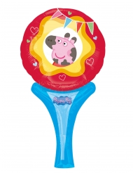 Balão de alumínio Miss Peppa Pig™ 15 x 30 cm