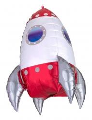 Balão alumínio foguete espacial 55 cm