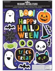 Adesivos para janela Halloween friends