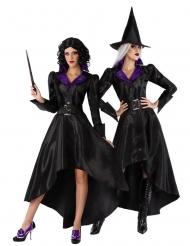 Disfarce com chapéu bruxa anos 20 mulher