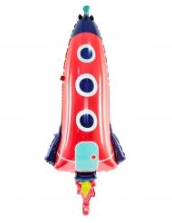 Balão de alumínio foguete 44 x 115 cm