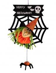 Decoração bruxa Halloween 50 cm