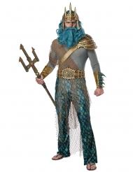 Disfarce deus do mar homem