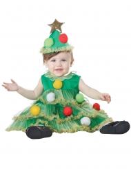 Disfarce árvore de Natal bebé