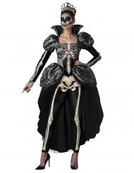 Disfrace Rainha esqueleto mulher