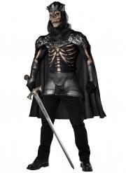 Disfrace rei esqueleto homem