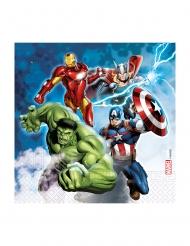 20 Guardanapos de papel compostavel Avengers™