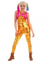 Disfrace macacão losangos mulher