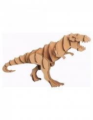 Modelo de tiranossauro de cartão 20 x 7 x 10 cm