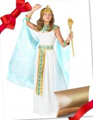 Caixa de presente disfarce egípcia com acessórios menina