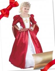 Caixa de presente disfarce princesa medieval com acessórios menina