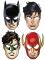 8 Máscaras de cartão Justice League™