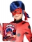 Coffret peruca e máscara Ladybug™ criança