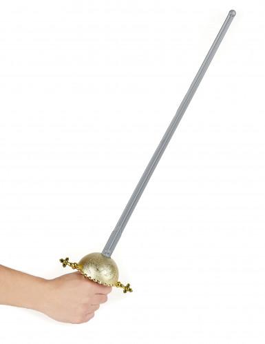 Espada c/ punho arredondado de espadachim-1