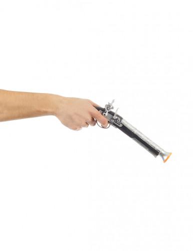 Pistola de pirata criança de plástico-1
