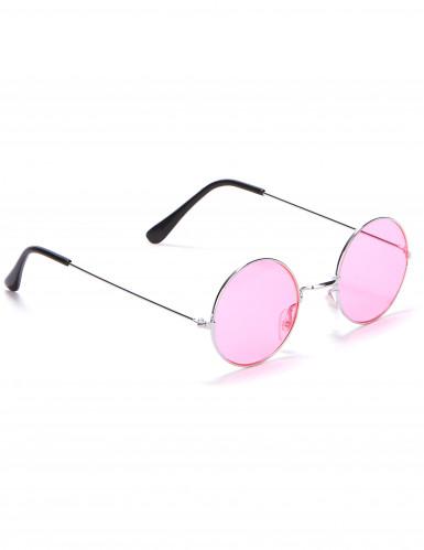 Óculos redondos estilo hippie para adulto