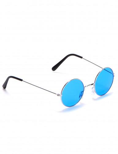Óculos redondos estilo hippie para adulto-1
