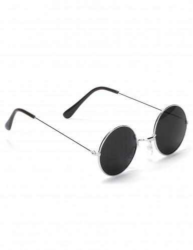 Óculos redondos estilo hippie para adulto-2