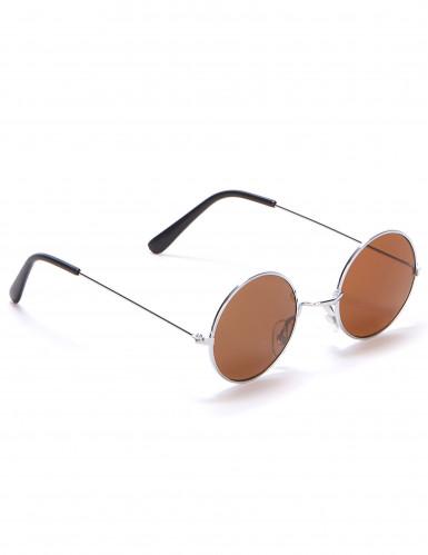 Óculos redondos estilo hippie para adulto-3