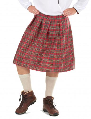 Kilt escocês adulto
