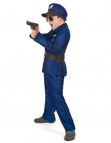 Disfarce de polícia de luxo menino-1