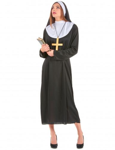 Disfarce de freira adulta