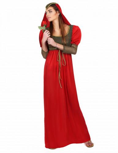Disfarce medieval para mulher