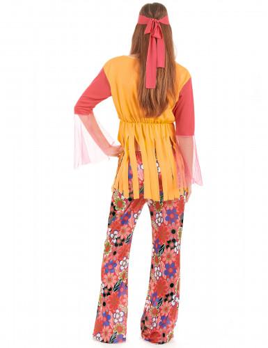 Disfarce hippie de mulher-1