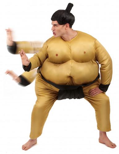 Disfarce de lutador de sumo-1