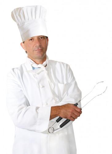 Chapéu de cozinheiro para adulto
