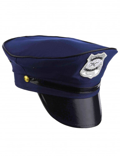 Boné de polícia para adulto