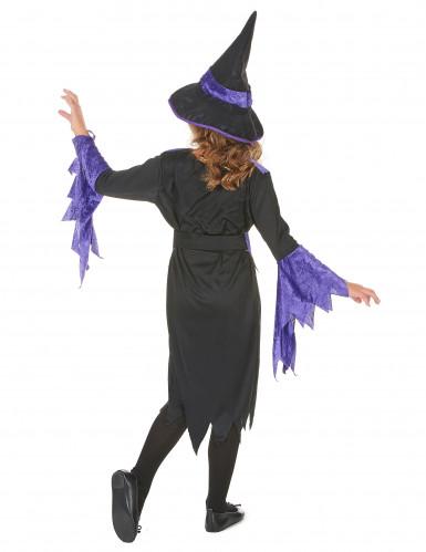 Disfarce de feiticeira de Halloween para rapariga-2