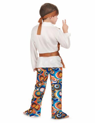 Disfarce de hippie castanho menino-2