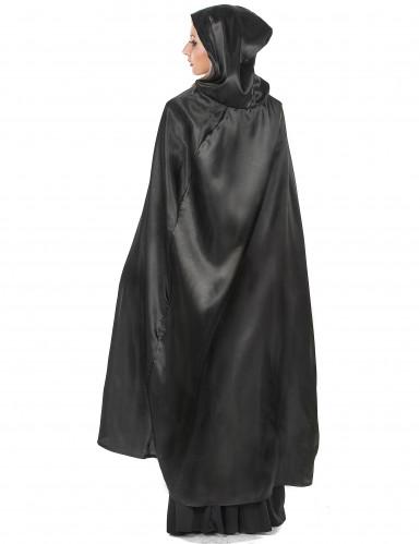 Capa vampiro preto adulto Halloween-2