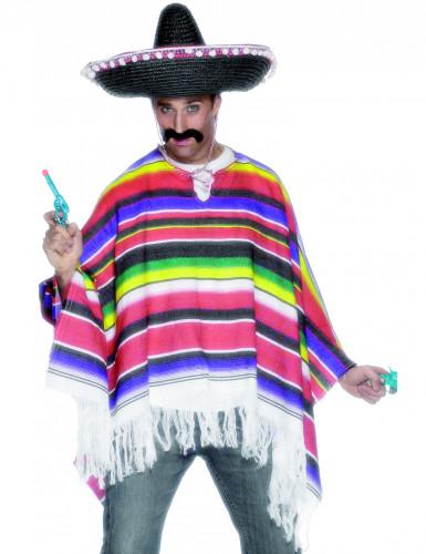 Poncho de mexicano para homem