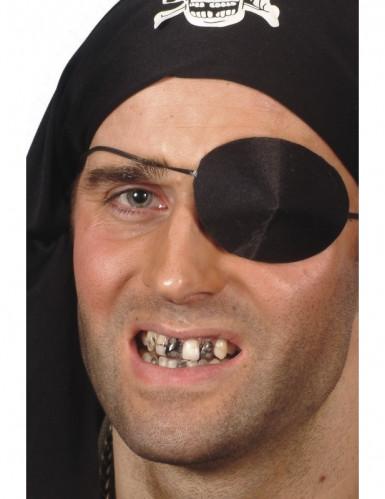Maquilhagem preta para dentes adulto Halloween