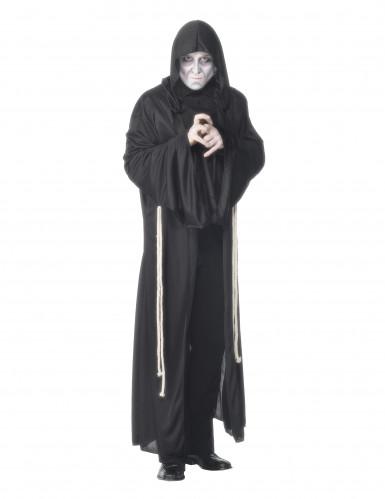 Disfarce monge sombrio homem Halloween