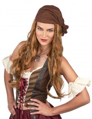 Peruca de Jack o pirata-1