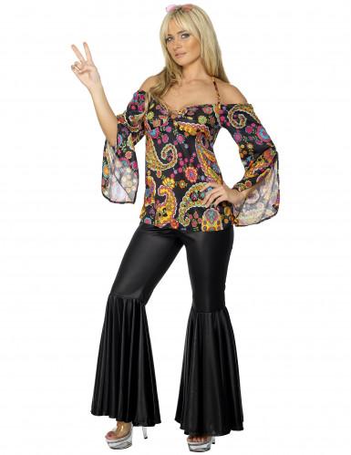 Disfarce hippie Johanna mulher