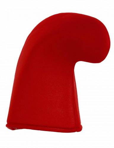 Barrete de elfo vermelho adulto