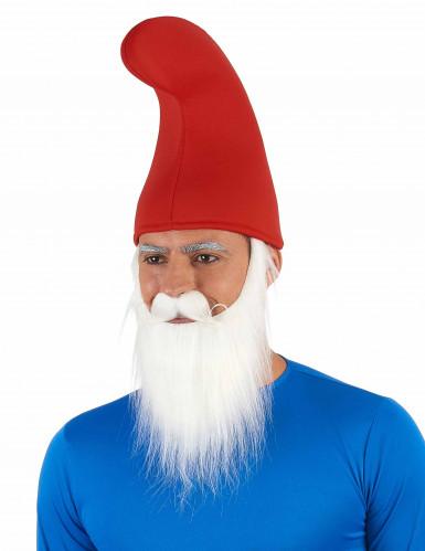 Barrete de elfo vermelho adulto-1
