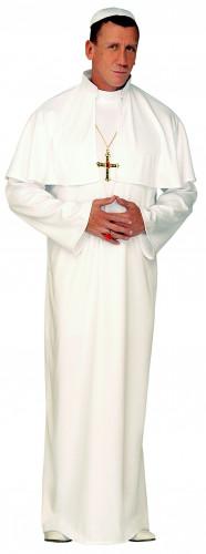 Disfarce de Papa branco para homem