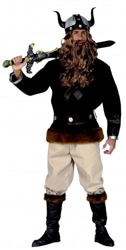 Disfarce de viking para homem