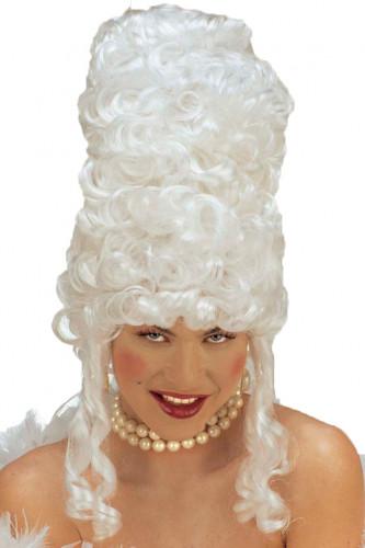 Peruca de Marie Antoinette para mulher