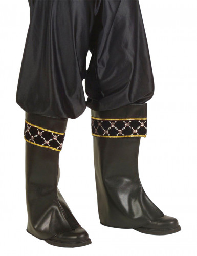 Sobre-botas de pirata para adulto