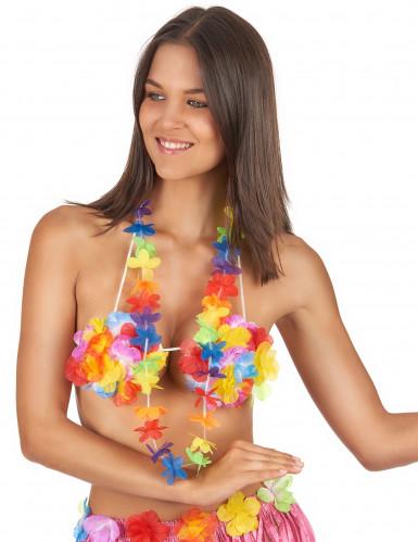 Colar Havai de boas-vindas colorido-1