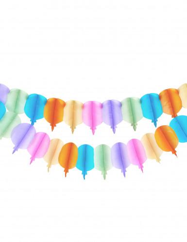 Grinalda de balões de papel