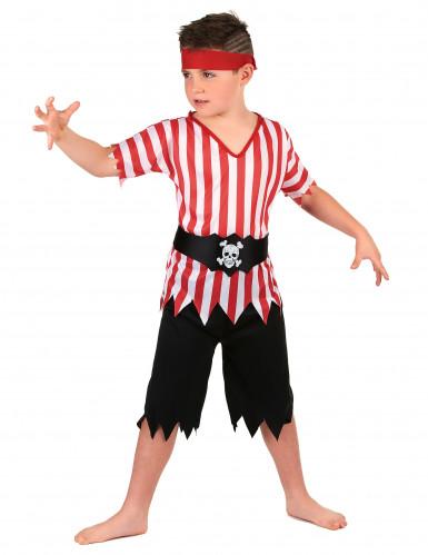 Disfarce pirata com túnica menino-1